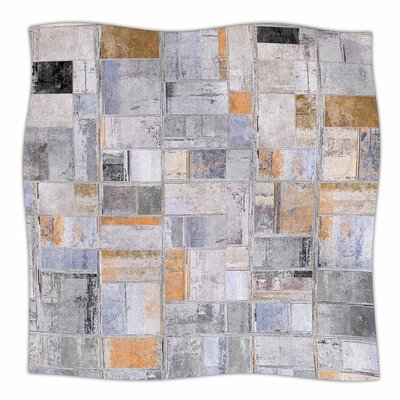 Susan Sanders Tile Squares Photography Fleece Throw Size: 60 W x 80 L