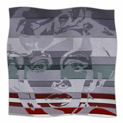 Ivan Joh Star Monroe Fleece Throw Size: 60 W x 80 L