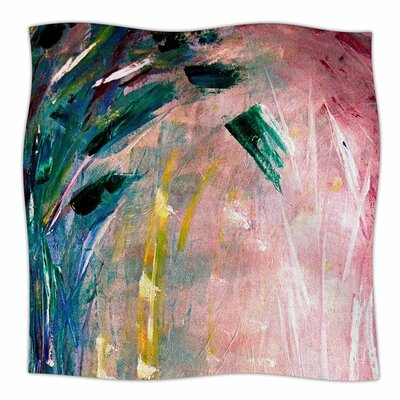 Malia Shields Journey Painting Fleece Throw Size: 50 W x 60 L