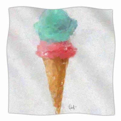 Oriana Cordero Cotton Candy and Fleece Throw Size: 50 W x 60 L