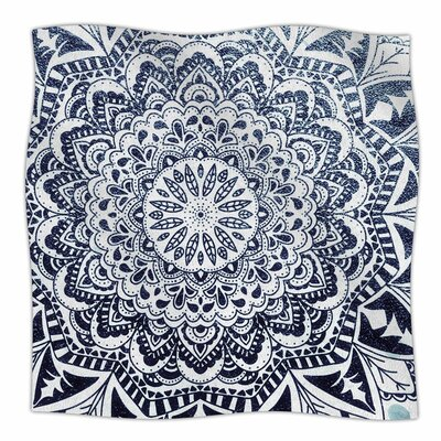 Nika Martinez Dots Mandala Illustration Fleece Throw Size: 60 W x 80 L