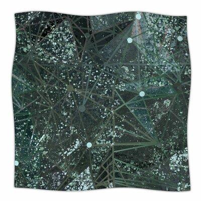 Mariannakelevich Aventurine Space Digital Fleece Throw Size: 60 W x 80 L