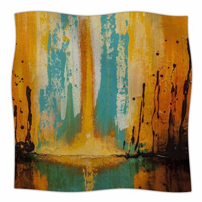 Steven Dix Inception Or Birth Fleece Throw Size: 50 W x 60 L
