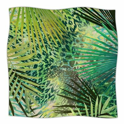 Victoria Krupp Animal Jungles Digital Fleece Throw Size: 60 W x 80 L