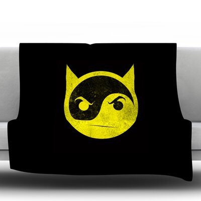 Bat Yin by Frederic Levy Hadida Fleece Blanket Size: 50 W x 60 L