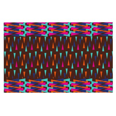 Famenxt Abstract Triangle Doormat