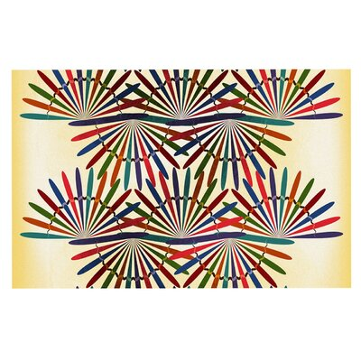 Famenxt Colorful Abstract Doormat