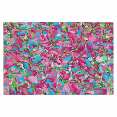 Empire Ruhl Abstract Spring Petals Doormat