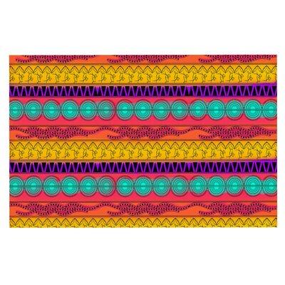 Famenxt Watercolor Colorful Doormat