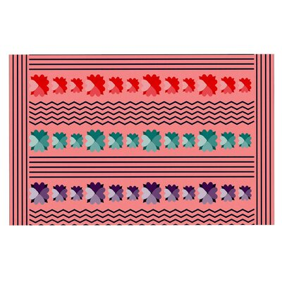 Famenxt Romantic Love Abstract Doormat