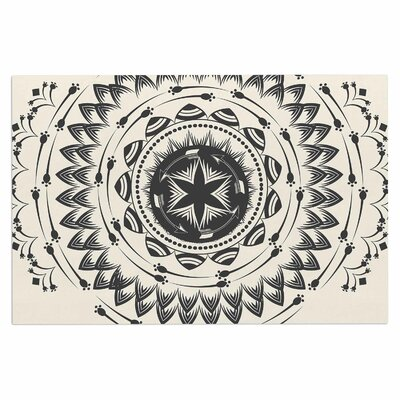 Famenxt Boho Tribe Mandala Doormat