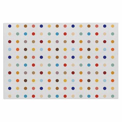 Empire Ruhl Fall Dots Pastel Digital Doormat