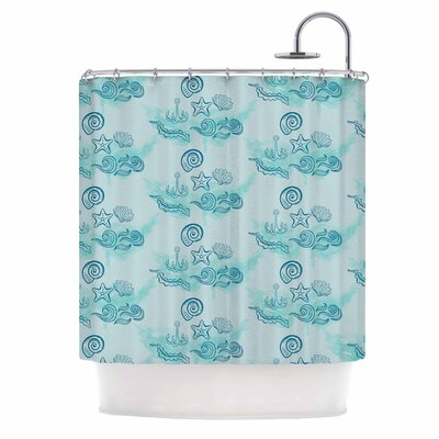 Famenxt Ocean Shower Curtain