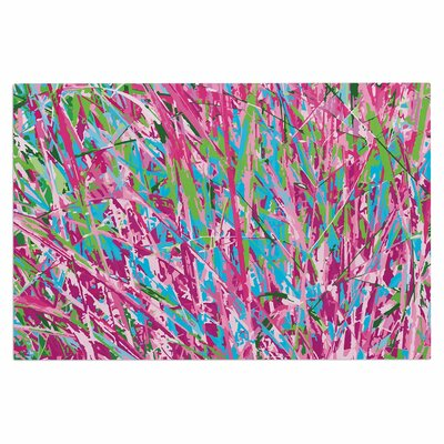 Empire Ruhl Spring Grass Abstract Doormat