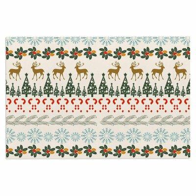 Famenxt Christmas Vibes Holiday Doormat