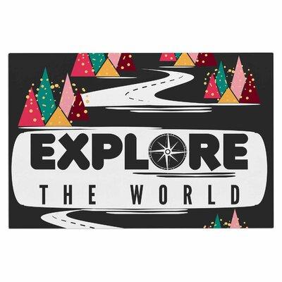 Famenxt Explore the World Doormat