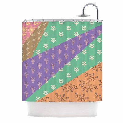 Famenxt Garden Shower Curtain