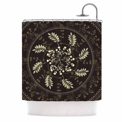 Famenxt Reborn Mandala Shower Curtain