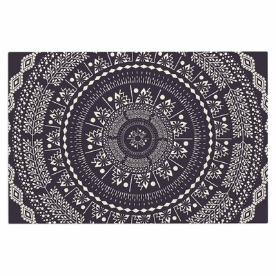 Famenxt Swadesi Boho Mandala Illustration Doormat