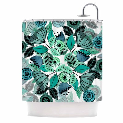 Famenxt Mint Sognare Abstract Shower Curtain