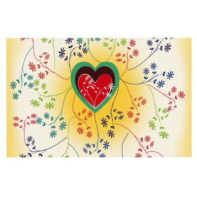 Famenxt Romantic Heart Doormat