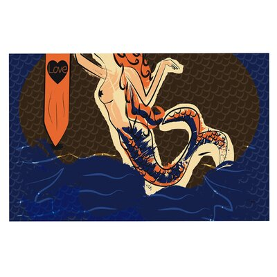 Famenxt Mermaid Doormat