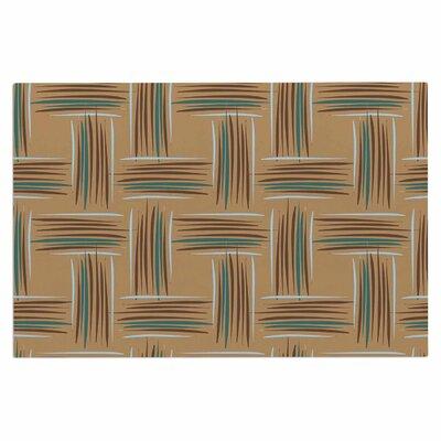 Empire Ruhl Natural Crosshatch Digital Doormat