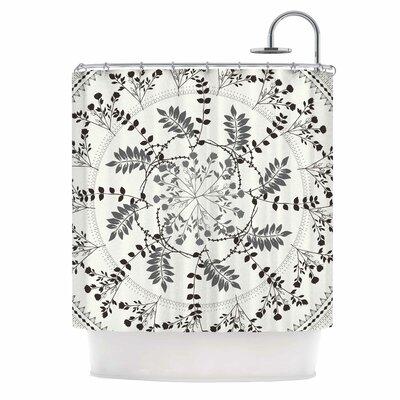 Famenxt Magical Vibes Boho Madellion Shower Curtain