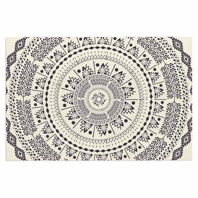 Famenxt Swadesi Soft Boho Mandala Illustration Doormat