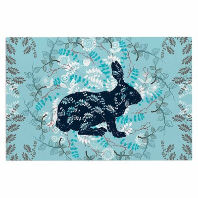 Famenxt Bunny in the Jungle Animals Doormat