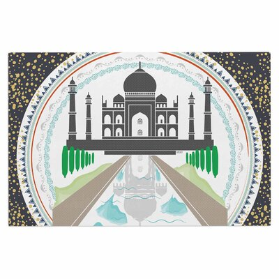 Famenxt The Taj Mahal India Doormat