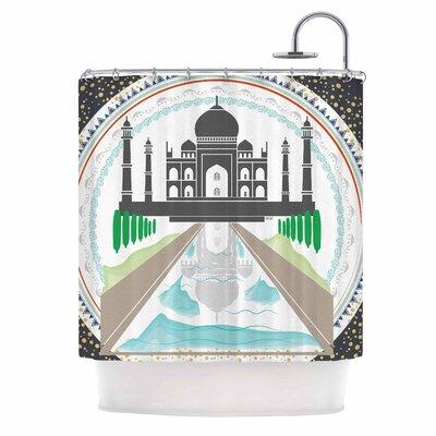 Famenxt The Taj Mahal India Shower Curtain
