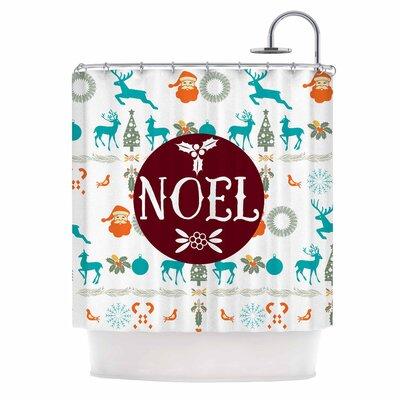 Famenxt Noel Shower Curtain