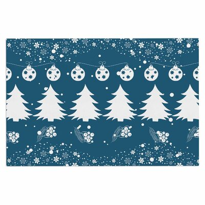 Famenxt Merry Christmas Holiday Illustration Doormat