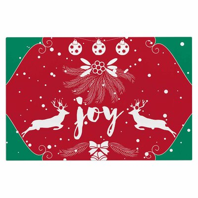 Famenxt Christmas Joy Digital Doormat