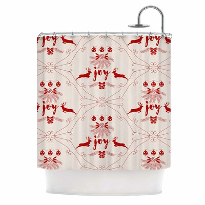 Famenxt Christmas Joy Shower Curtain