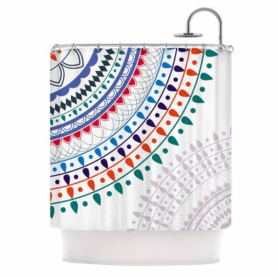Famenxt Tribes Vibes Mandala Shower Curtain