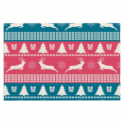 Famenxt Christmas Illustration Doormat