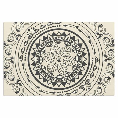 Famenxt Boho Folk Mandala Digital Doormat