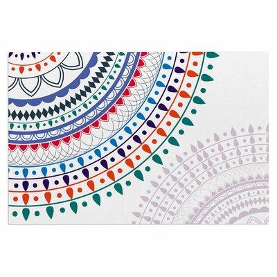 Famenxt Tribes Vibes Mandala Doormat
