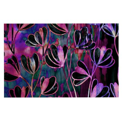 Ebi Emporium Effloresence Doormat Color: Pink/Purple