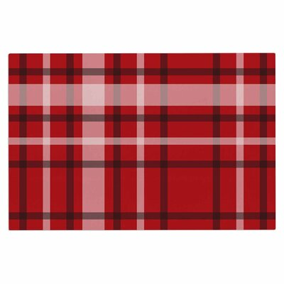 Famenxt Plaid Digital Doormat