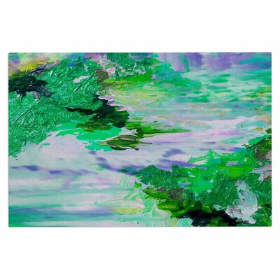 Ebi Emporium on Cloud Nine 4 Doormat Color: Green/Blue