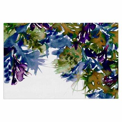 Ebi Emporium Floral Cascade 4 Doormat Color: Purple