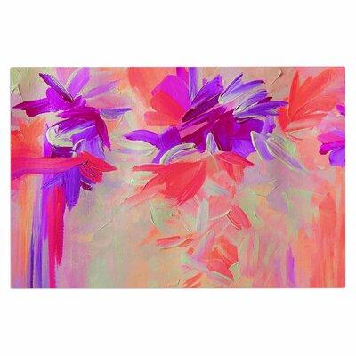 Ebi Emporium Deconstructing the Garden 3 Doormat Color: Purple/Pink