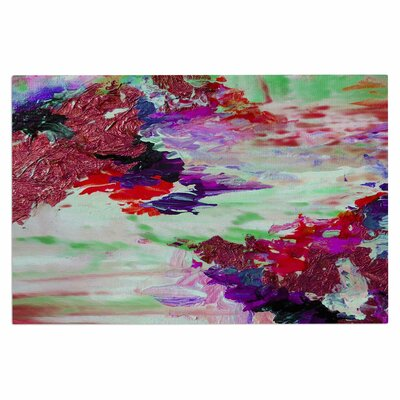 Ebi Emporium on Cloud Nine 4 Doormat Color: Maroon/Purple