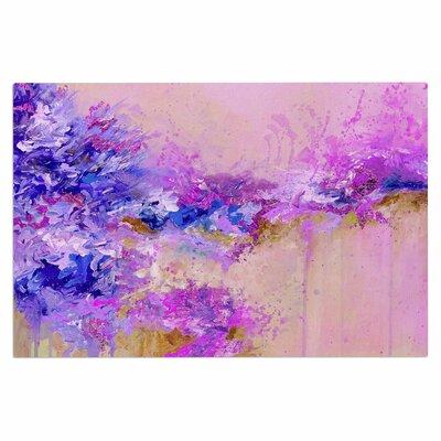 Ebi Emporium When Land Met Sky 3 Doormat Color: Purple/Pink