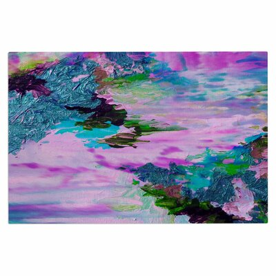 Ebi Emporium on Cloud Nine 4 Doormat Color: Teal/Pink