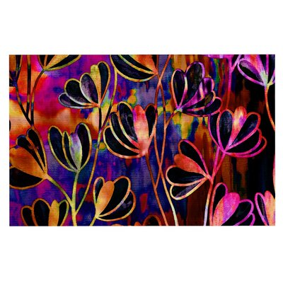 Ebi Emporium Effloresence Doormat Color: Pink