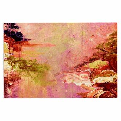 Ebi Emporium Winter Dreamland 3 Doormat Color: Pink/Orange